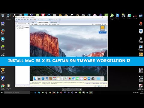 mac on windows 10 vmware