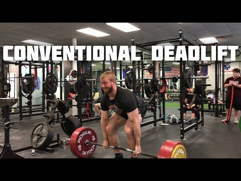 How To: Conventional Deadlift