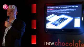 LG Chocolate BL40 Design Museum Launch - John Barton Presentation