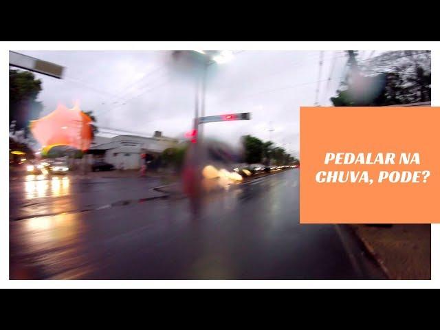 Ir pro trabalho de bike na chuva? - Canal Du Curioso