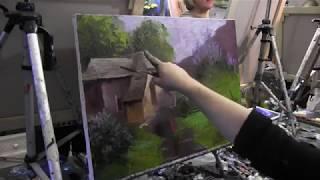 Игорь Сахаров, уроки рисования в Москве, живопись для начинающих 1