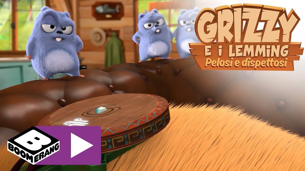 Download Grizzy e i lemming   Il medaglione magico   Boomerang Italia