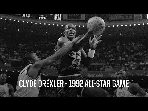 Throwback: Clyde Drexler Puts In Work (22 pts, 9 rebs, 6 asts) at 1992 All-Star Game