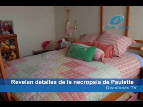 Revelan detalles sobre la muerte de Paulette