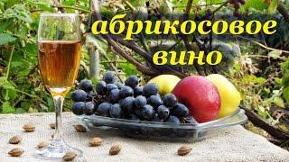 Рецепт вина из абрикос, крепленное с ароматом косточки