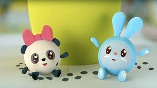 Малышарики - Невідомі сліди (5 серія) | Розвиваючі мультфільми для самих маленьких 1,2,3,4 року
