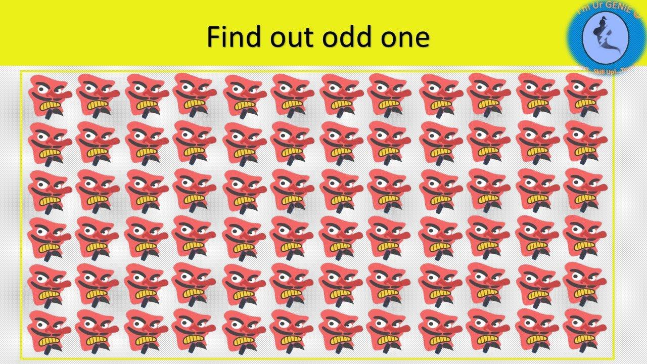 Find odd one series | #SkillUpwithGenie #Brainteaser #Findodd