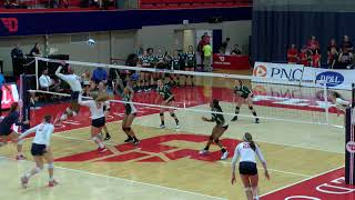 Dayton Volleyball: George Mason Highlights