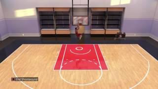NBA 2K16 takin shots