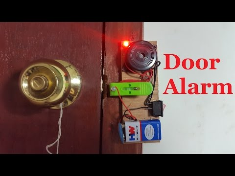 How to Make a Door Alarm | DIY home security alarm
