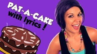 Pat-a-Cake Nursery Rhyme with Lyrics