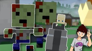 Crafting Dead Steam Game - VOXEL ZOMBIE GAME!! - Standalone Early Access & Quick Look Gameplay