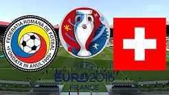 RUMÄNIEN vs. SCHWEIZ | EURO 2016 FRANKREICH ◄EM #08►