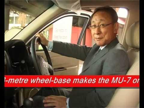 Isuzu  India made MU7 SUV unveiled in Visakhapaynam