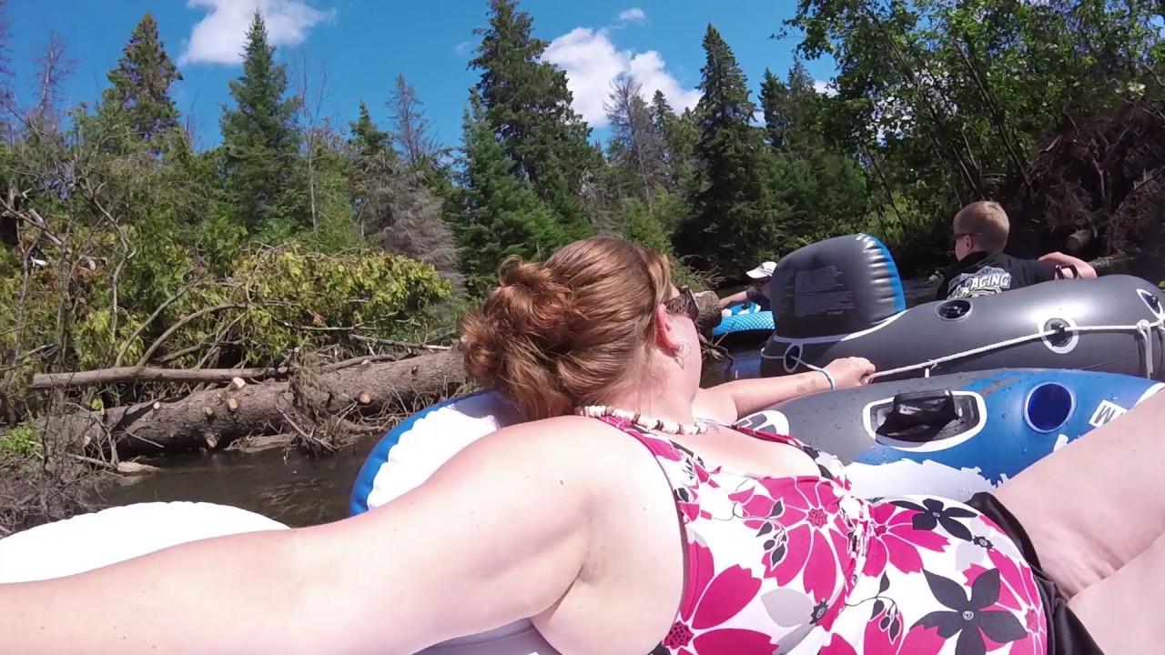 Tubing The Rifle River