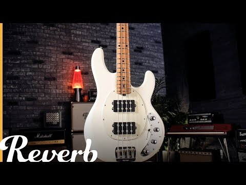 Ernie Ball Music Man 2018 StingRay Special Bass Guitar | Reverb Demo Video