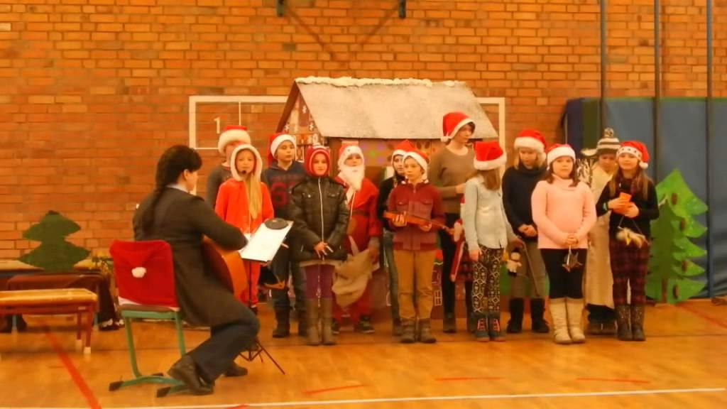 Grundschule Weihnachtsfeier.Weihnachtsfeier Grundschule Ottendorf 2014 Eroeffnung