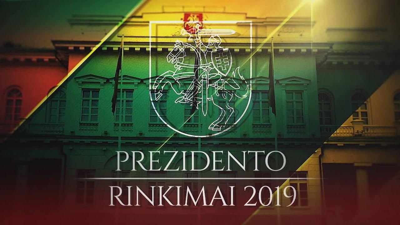 """Speciali debatų laida """"Prezidento rinkimai 2019"""" (2019-04-26)"""