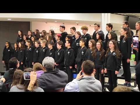 "Roslyn Middle School Chorale sings ""You Will be Found"" from Dear Evan Hansen"