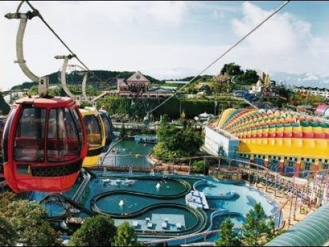 Cable car Genting highland Malaysia HD