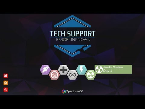 Tech Support: Error Unknown Gameplay |