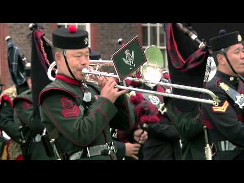 Fisher Productions produce the Gurkha 200 Pageant at Royal Hospital Chelsea June 2015