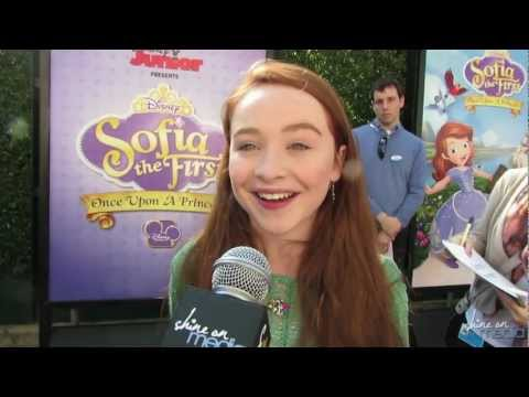 "Sabrina Carpenter Talks ""Sofia the First"" TV Series"