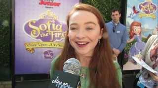 "Sabrina Carpenter Talks ""Sofia the First"" TV Series"