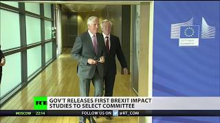 David Davis releases first Brexit impact studies to select committee