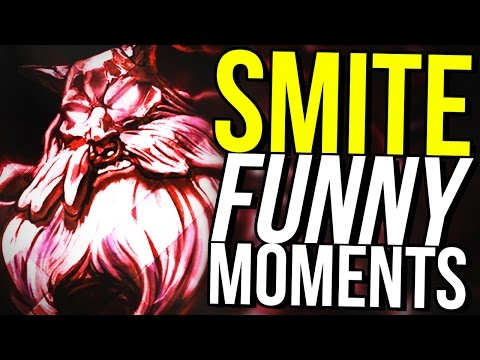 DAMAGE YMIR IS BACK!- SMITE FUNNY MOMENTS