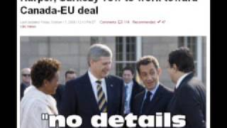 NWO GLOBAL ALERT Canada-EU Integration