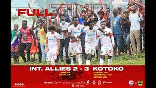 ASANTE KOTOKO VS INTER ALLIES-GPL-GOALSampHIGHLIGHTS-PORCUPINES WIN