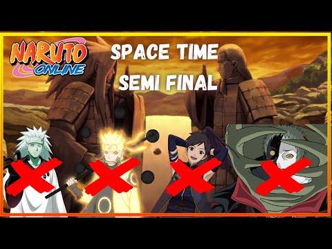 [Dimensão Paralela] Space Time Semi Final   Naruto Online