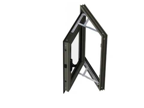 Ventana abatible exterior superba 44 color titanio youtube for Ventanas aluminio color titanio