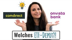 Wo ich mein Depot habe + Depot-Vergleich comdirect & onvista // Frugalismus und Investieren