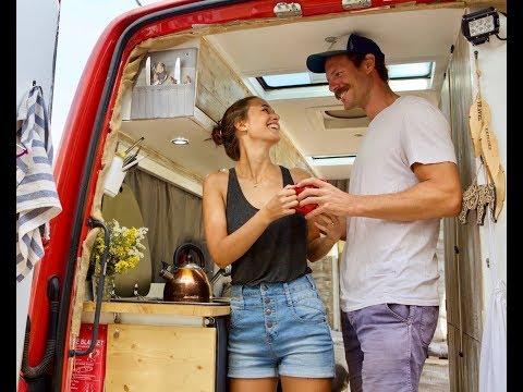 Mercedes Sprinter Van tour - our tiny house on the road