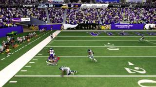 Madden 25 :: XBOX ONE Gameplay :: Would YOU break something? - Vikings Vs. Seahawks-XboxOne