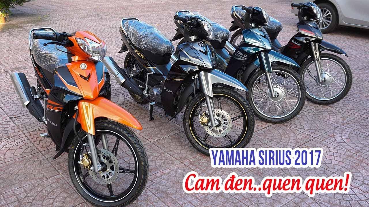 Yamaha Sirius RC 2017 ▷ Đánh giá thay đổi tem xe bản cuối năm!