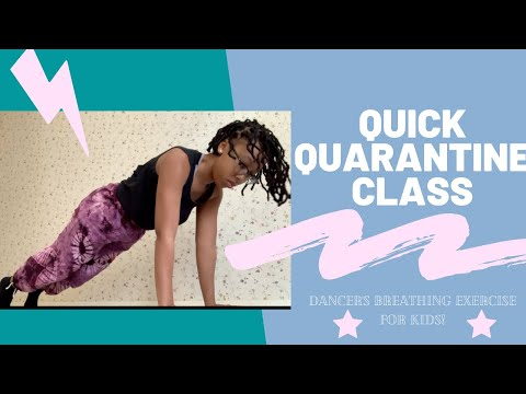 Quick Quarantine Class | TikTok Inspired Breathing Game | Cleveland Arts and Social Sciences Academy