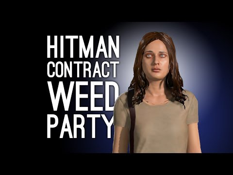 Hitman Contract: WEED PARTY BUST - Don't Play Music So Late Please Contract (Let's Play Hitman)
