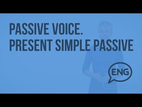 Passive Voice. Present Simple Passive. Видеоурок по английскому языку 5-6 класс