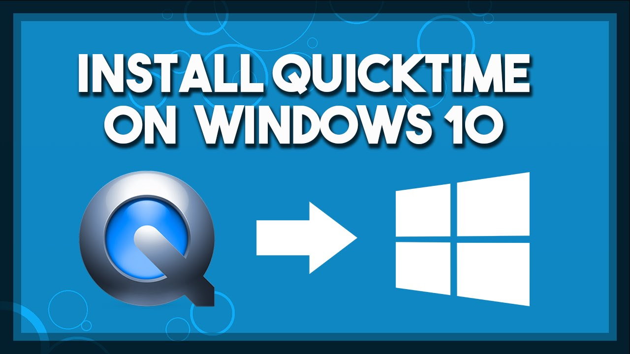 How to Fix QuickTime Not Installing on Windows 10 - YouTube
