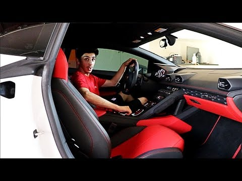 FULL TOUR OF MY NEW LAMBORGHINI HURACAN (0-60 LAUNCH) | FaZe Rug