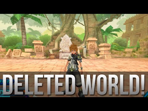 Kingdom Hearts - Jungle Book World GAMEPLAY - Deleted World!