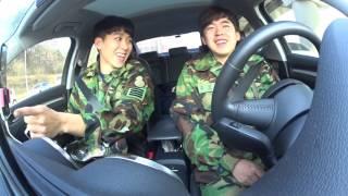 소니 액션캠 자동차 실내 촬영