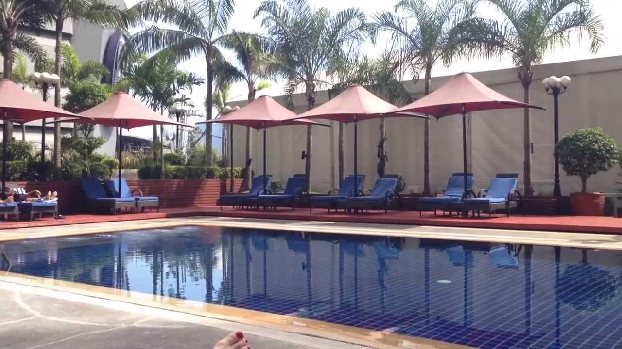 Dusit Thani Hotel Manila Pool Arnaiz Avenue Makati By Youtube