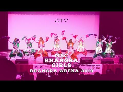 MSC Bhangra Girls @ Bhangra Arena 2019