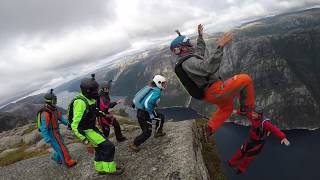 B.A.S.E Jumping Norway 2018