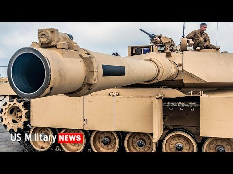 M1A2C Abrams Tanks Are Not To Be Messed With