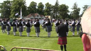 European Pipe Band Championships 2014 - Peoples Ford Boghall And Bathgate Caledonia